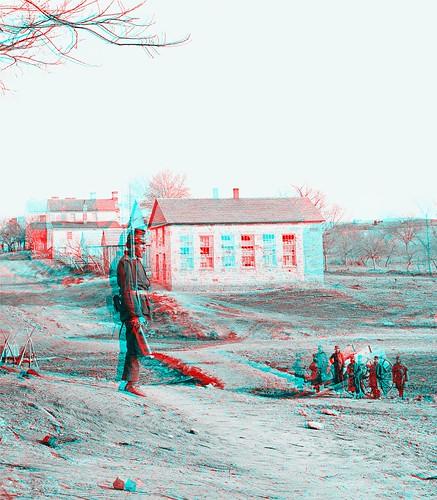 [Centreville, Va. Stone church during the Civil War] (LOC)