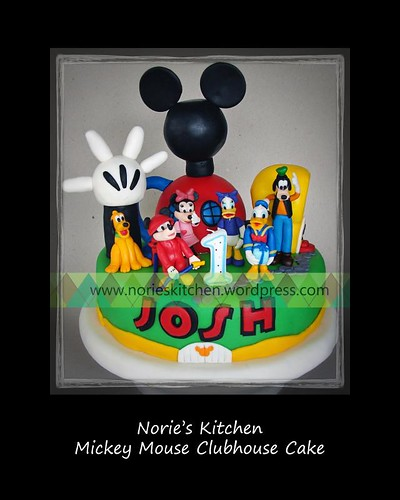 Norie's Kitchen - Mickey Mouse Clubhouse Cake