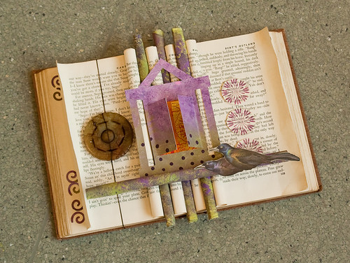 Altered Book Workshop- Seattle Center for Book Arts-5