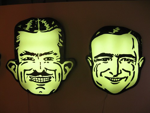 pep boys at the museum of neon art