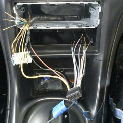 Bf Falcon Stereo Wiring Diagram Ezgo Marathon Gas [vt-vx] - Installing An Aftermarket Head Unit | Just Commodores