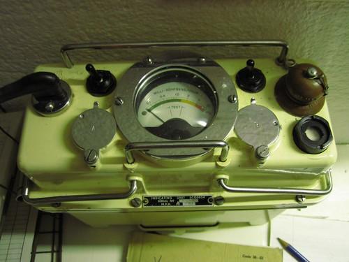 Chop Gate ROC Bunker - Radiac Indicator