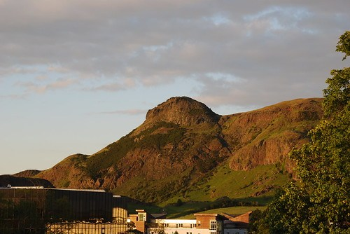 Arthur's Seat on an evening in June