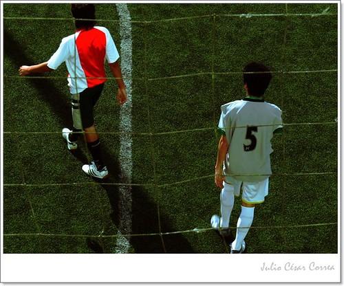 Jugadores (5) by Julio César Correa