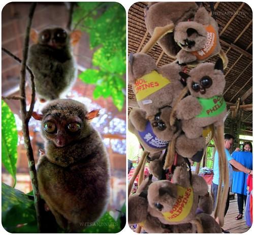 Tarsier souvenir from Bohol