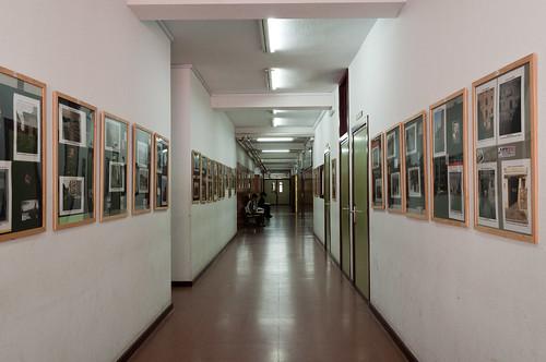 """Exposición de """"Alcalá de Henares ayer y hoy"""" en el IES Alonso Quijano"""