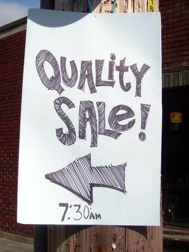 Quality Sale!