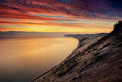 """""""Superior Dawn"""" - Grand Sable Dunes , Pictured Rocks National Lakeshore"""