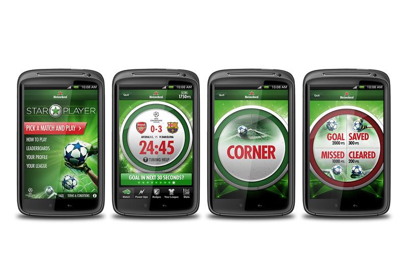Star Player mobile app