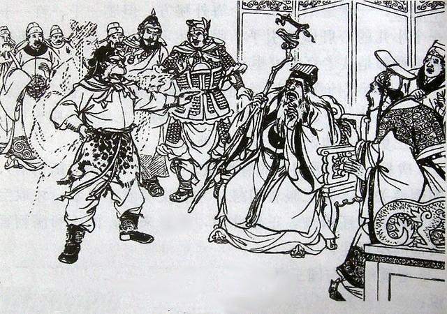 Wukong accosts the fake king