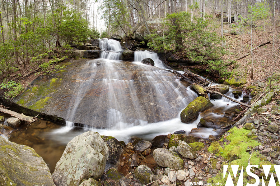 Upper Blood Mountain Creek Falls