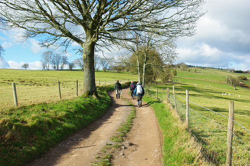 20110227-52_Ascent on Offas Dyke Path - Duffield' Lane Track by gary.hadden