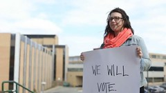 Vote Mob - We will vote @ MUN