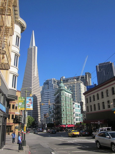 the pointy one is the transamerica