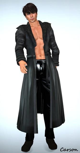sf design galiant leather coat
