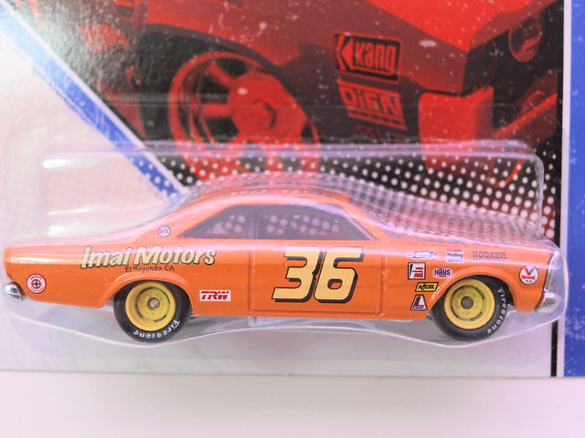 hot wheels vintage racing '65 ford galaxie i. motors (2)