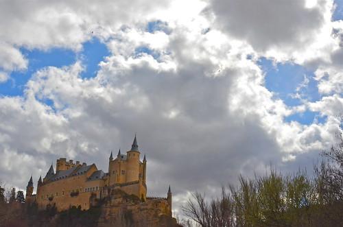 Alcazar De Segovia, Spain by Shirley Buxton