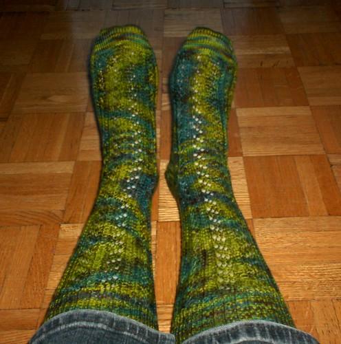La Vie de Bois Socks - Done