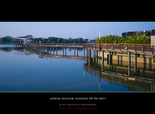 Lower Seletar Reservoir Sunrise 09-04-2011 #11