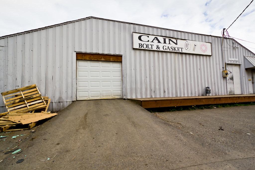 Cain Bolt & Gasket front door