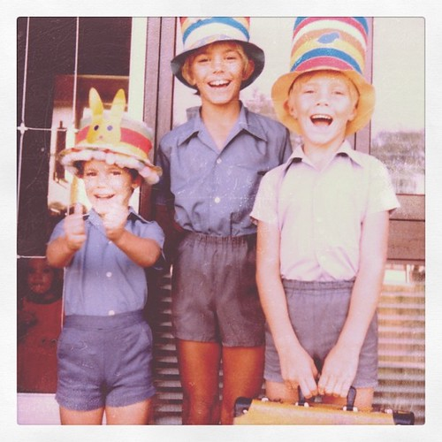 The awesome foursome. Easter 1982. #flashbackFriday