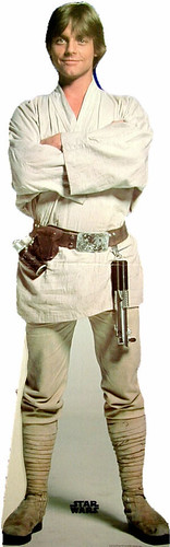 Mark Hamill as Luke Skywalker in the original version of Star Wars