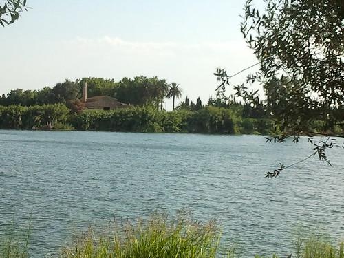 Paseo por la orilla del Ebro