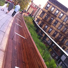 Walking the newly opened second phase of the High Line