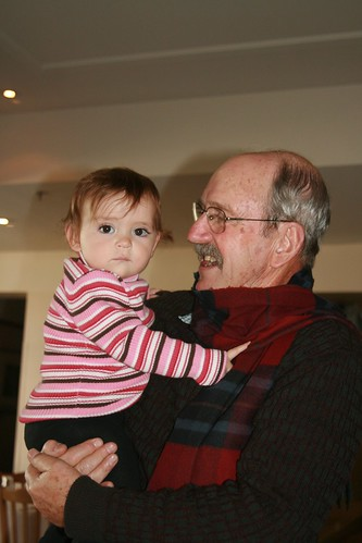 Cuddles with Grandpa