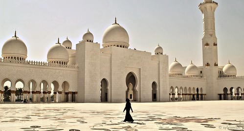 A lonely woman in the middle of the mosque Sylvianism Photo Album