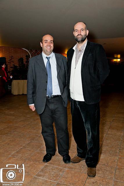 Con Paco Tamayo Alonso-Villaverde
