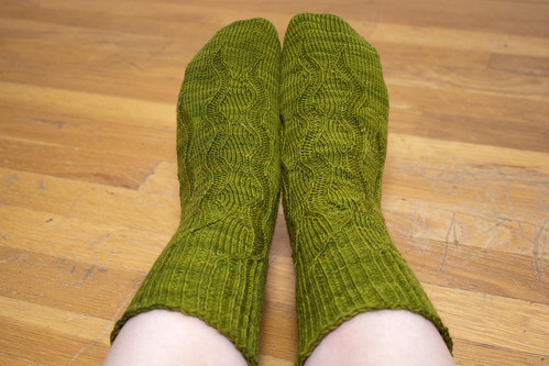 Gush Socks (Worn)