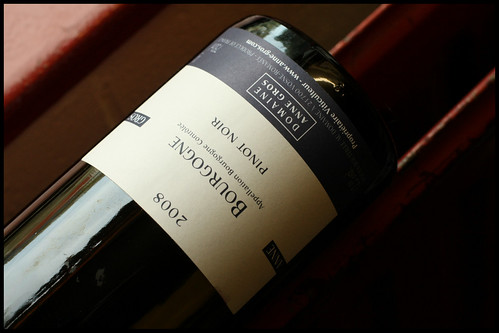 Domaine Anne Gros Bourgogne 2008 by mengteck