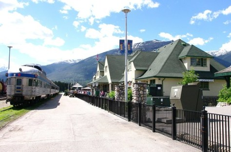 Jasper, AB VIA train station