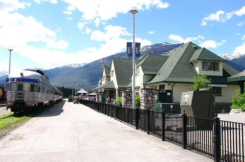 Jasper, AB VIA train station
