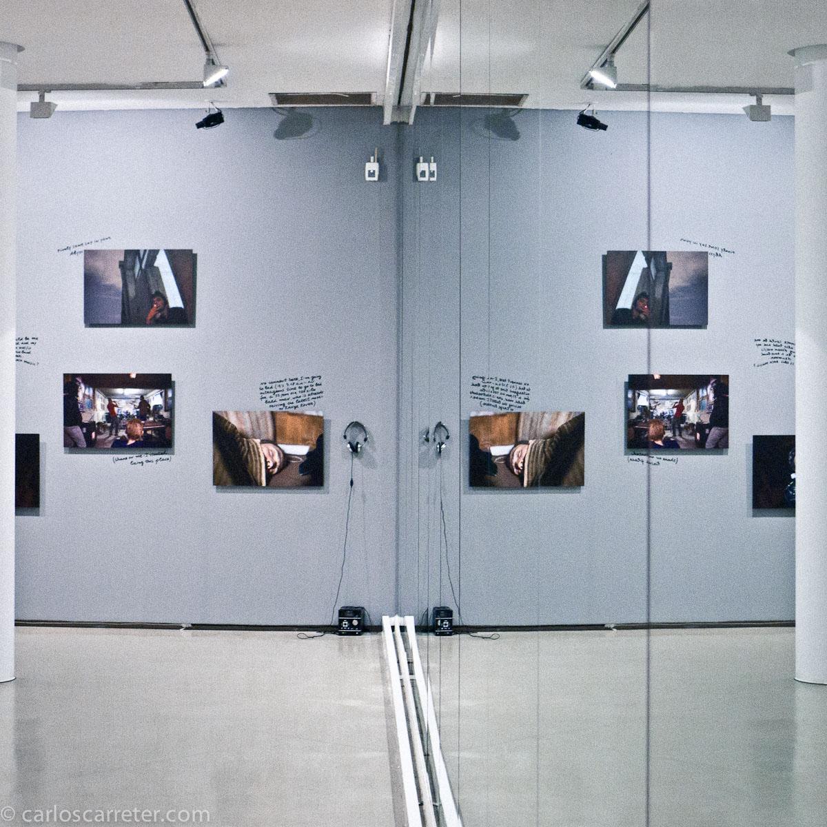 Un gran espejo para reflejar las obras (MUICO)