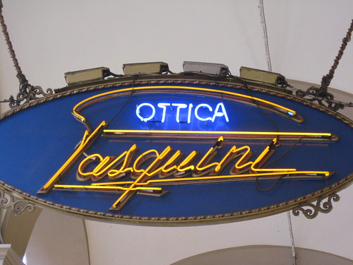Optical shop sign