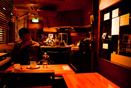 Whiskey Cafe - Yotsuya District, Tokyo, Japan