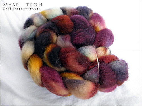 Abeille Fiber Arts in Mixed Berries