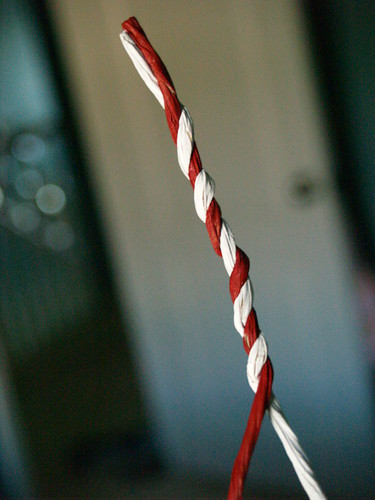Wire Candy Cane, Step 3