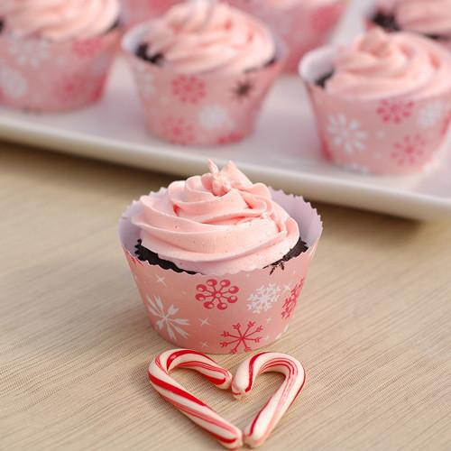Pepermint Mocha Cupcakes