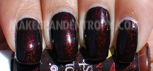 Eyeko Vampira polish closeup