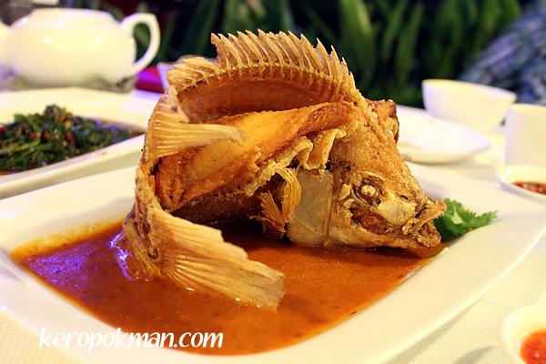 Nonya style Deep Fried Fish