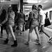 No Pants Subway Ride, SF 2011: arrival 01
