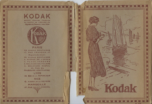 French Kodak photo album