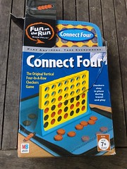 Connect Four travel edition