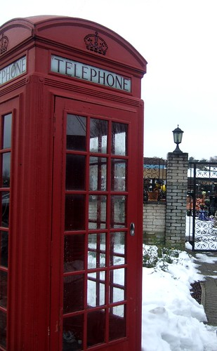 Snow Covered Phone Box