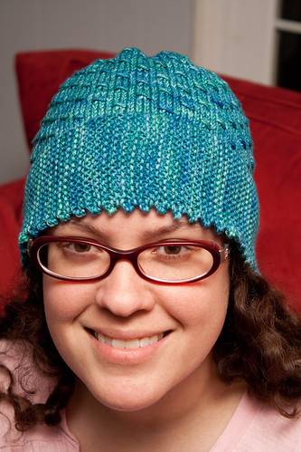 Picot Edge Hat (Front)