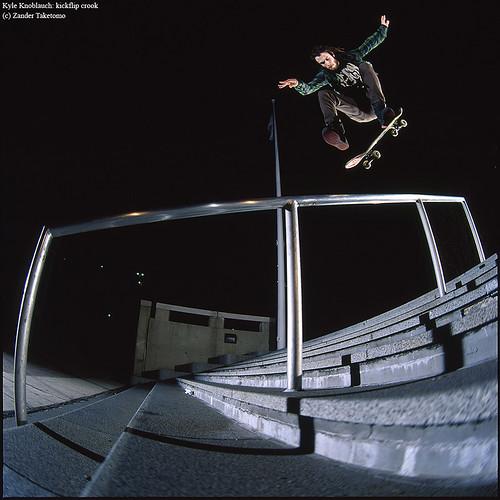 Kyle Knoblauch: kickflip crook