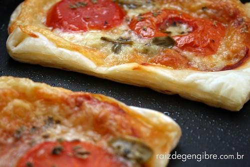 124. Pizza de massa folhada